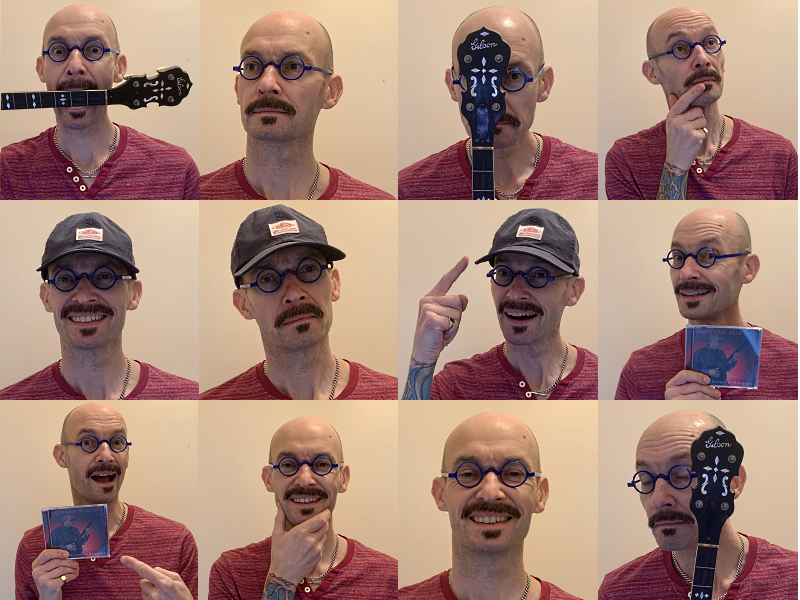 The many faces of Howard Burton!